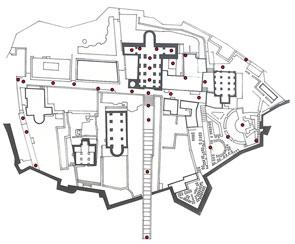 mappa castello