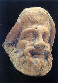 Maschera MUseo di Lipari